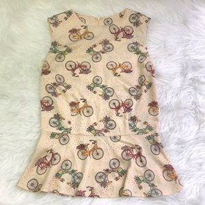 Dancing Daysby Banned Bicycle Peplum Tank XS